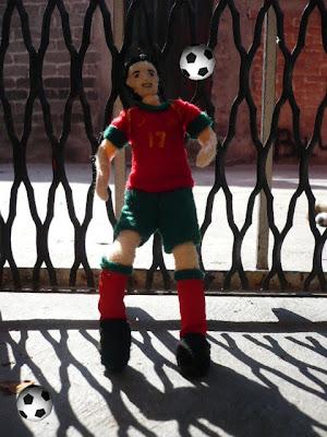 Cristiano Ronaldo doll 5