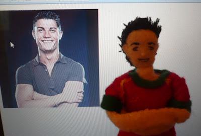 Cristiano Ronaldo doll 2