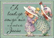 Gracias AGUALUNA ... Por tu Bendición ... pero respondo al auxilio con mi Alma y Corazón... ¡!!