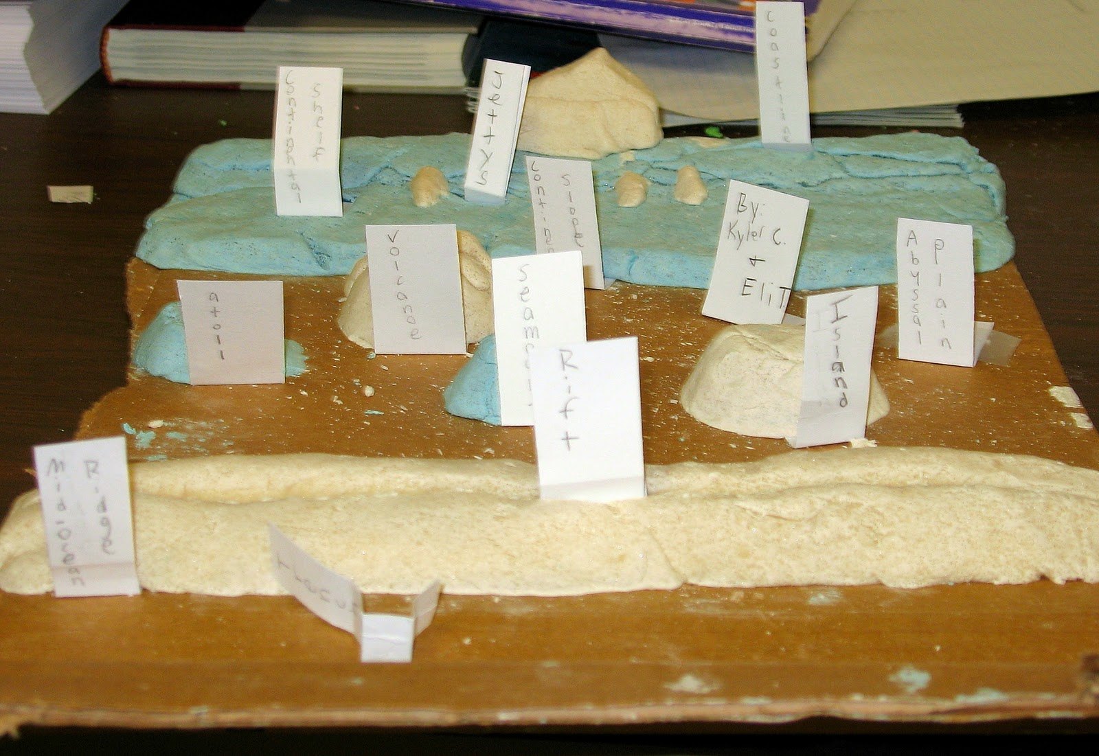 Ocean Floor School Projects Models http://rumseyengineers.blogspot.com/2010/12/ocean-floor.html