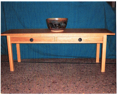 Ironwood hill design oak coffee table for Coffee tables 16 inches high