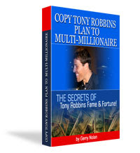 Anthony Robbins Biography: Tony Robbins' Secrets to Becoming a Multi-Millionaire  EBook Buy Here