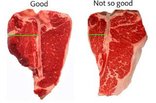 Gastroliaison june 2009 for Porterhouse vs t bone