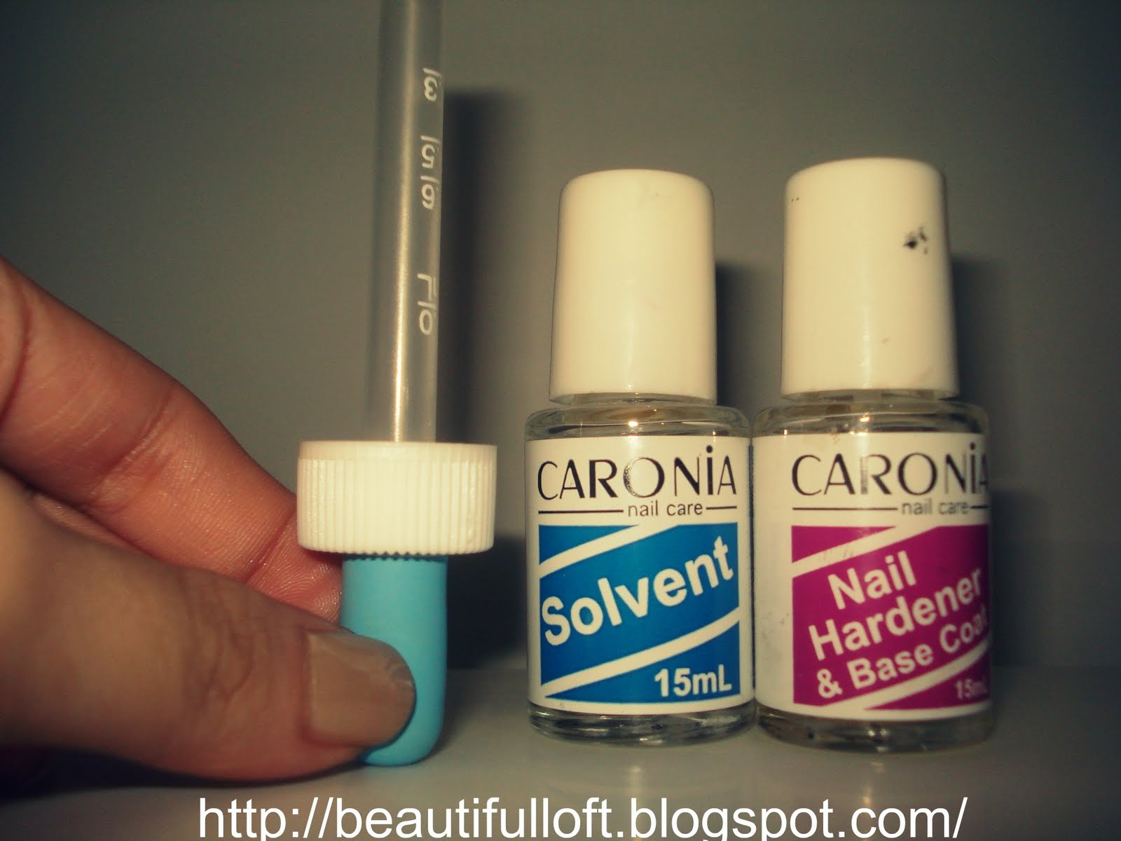 Mitch Wears Clothes: Review: Caronia Nail Hardener & Base Coat + ...