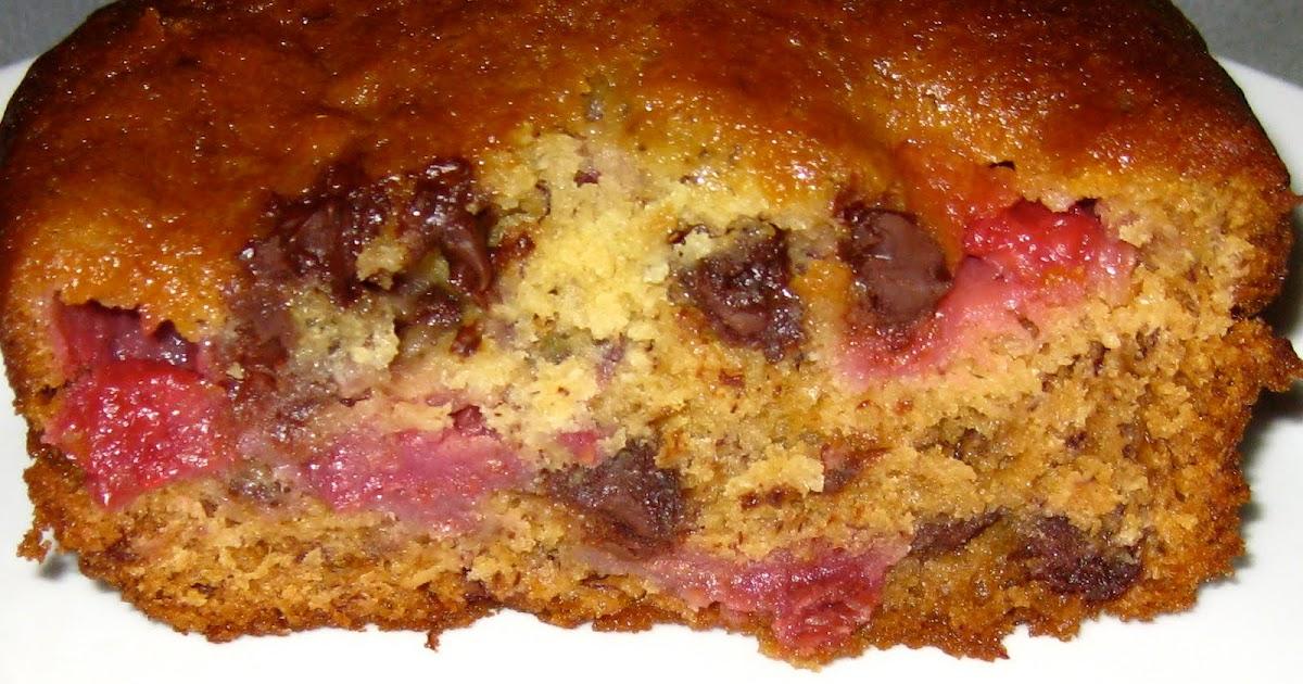 Amuse * Bouche: Chocolate Banana Raspberry Bread