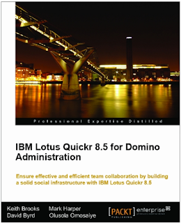 Quickr Administration book co-authored by Keith Brooks