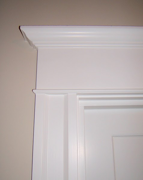 Tar paper crane a remodeling blog trim out interior for Interior wood trim profiles