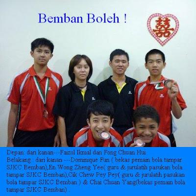 Download SJKC Bemban, Air Bemban, 81020, Kulai, Johor: Kejohanan Bola