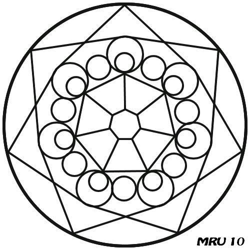 Mandalas - MRU - : MANDALA PARA PINTAR Y COLOREAR