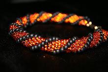 Pärlvirkade armband