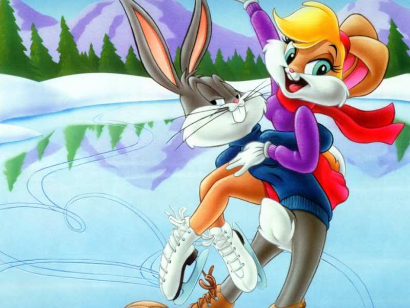 bugs and bunny