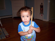 Drew and his baseball bat