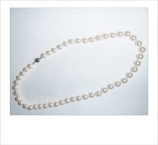 Swarovski Pearls Necklace by MagsBeadsCreation