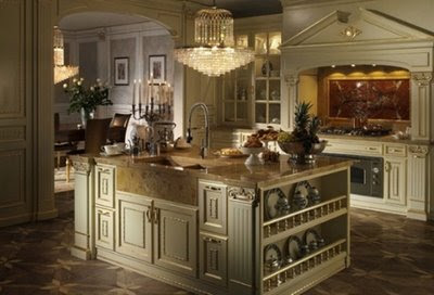Italian kitchen created specially for the fans of classic