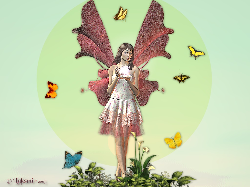 Cute butterfly fairies wallpapers fairy background wallpapers cute butterfly fairies wallpapers altavistaventures Image collections