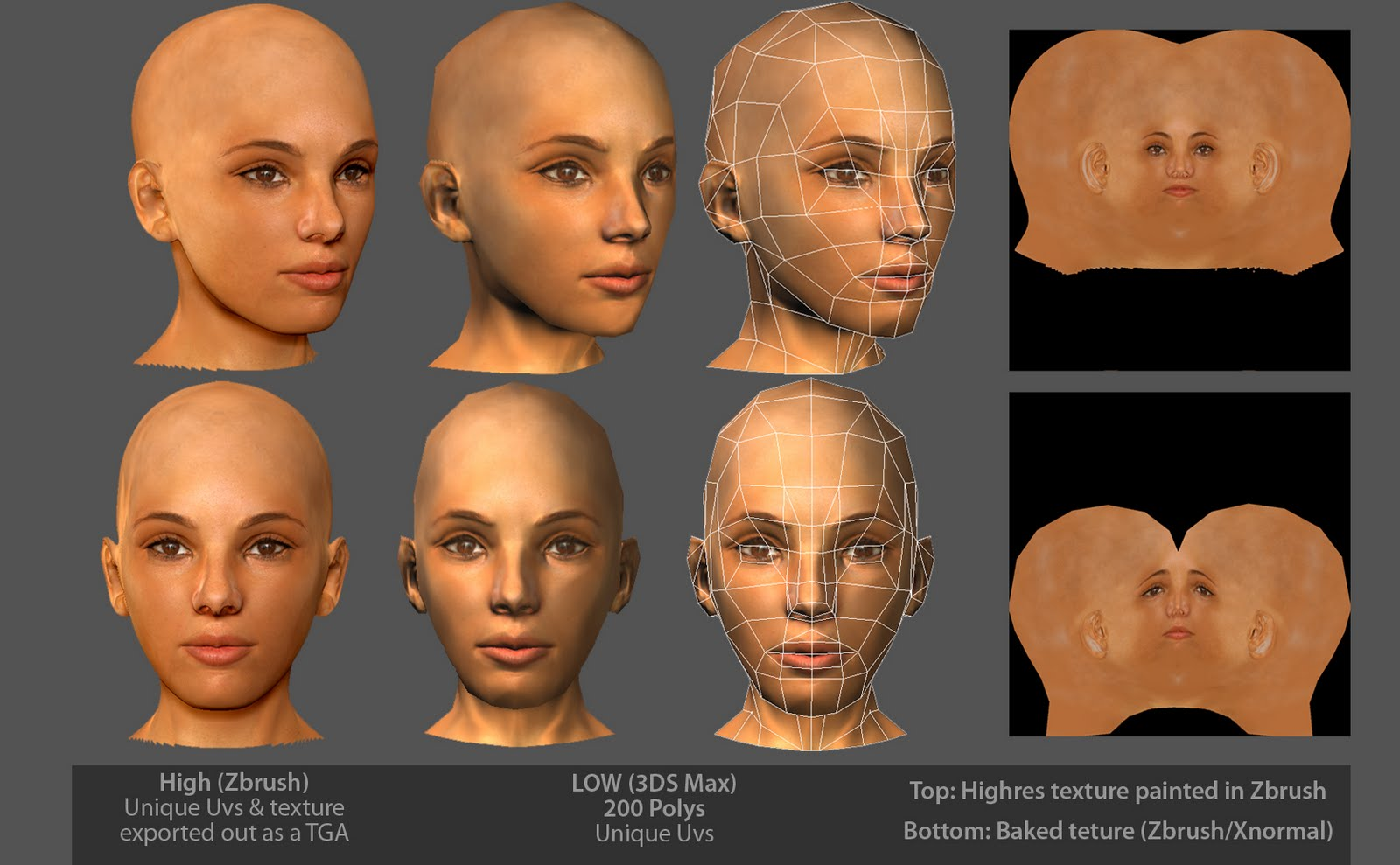 (zbrush, xnormal, 3ds max) download youtube videos max, com, vk, 3ds, xnormal, poly, https