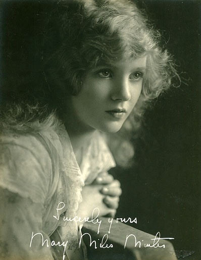mary miles minter later years