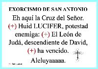 Exorcismo de San Antonio