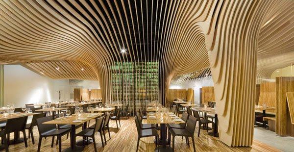 inspiring restaurant interior decoration