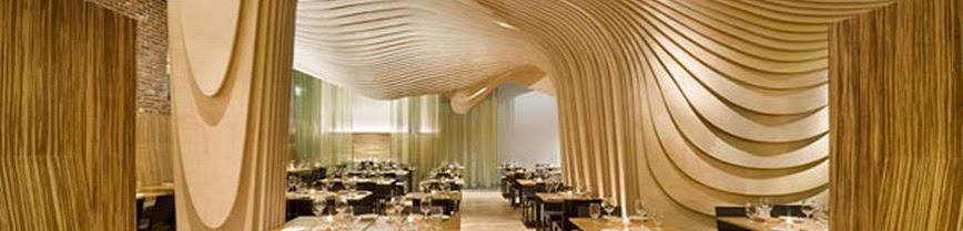Home and garden design wonderful modern restaurant