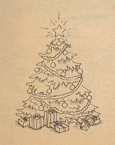 Drawing A Realistic Christmas Tree – Home design and Decorating