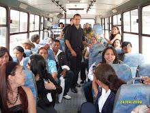 Estrenando el Autobus del CEPAP
