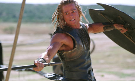 brad pitt troy images. rad pitt troy pictures.