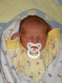 Awww!  She was such a cute newborn baby!  My Briahna!