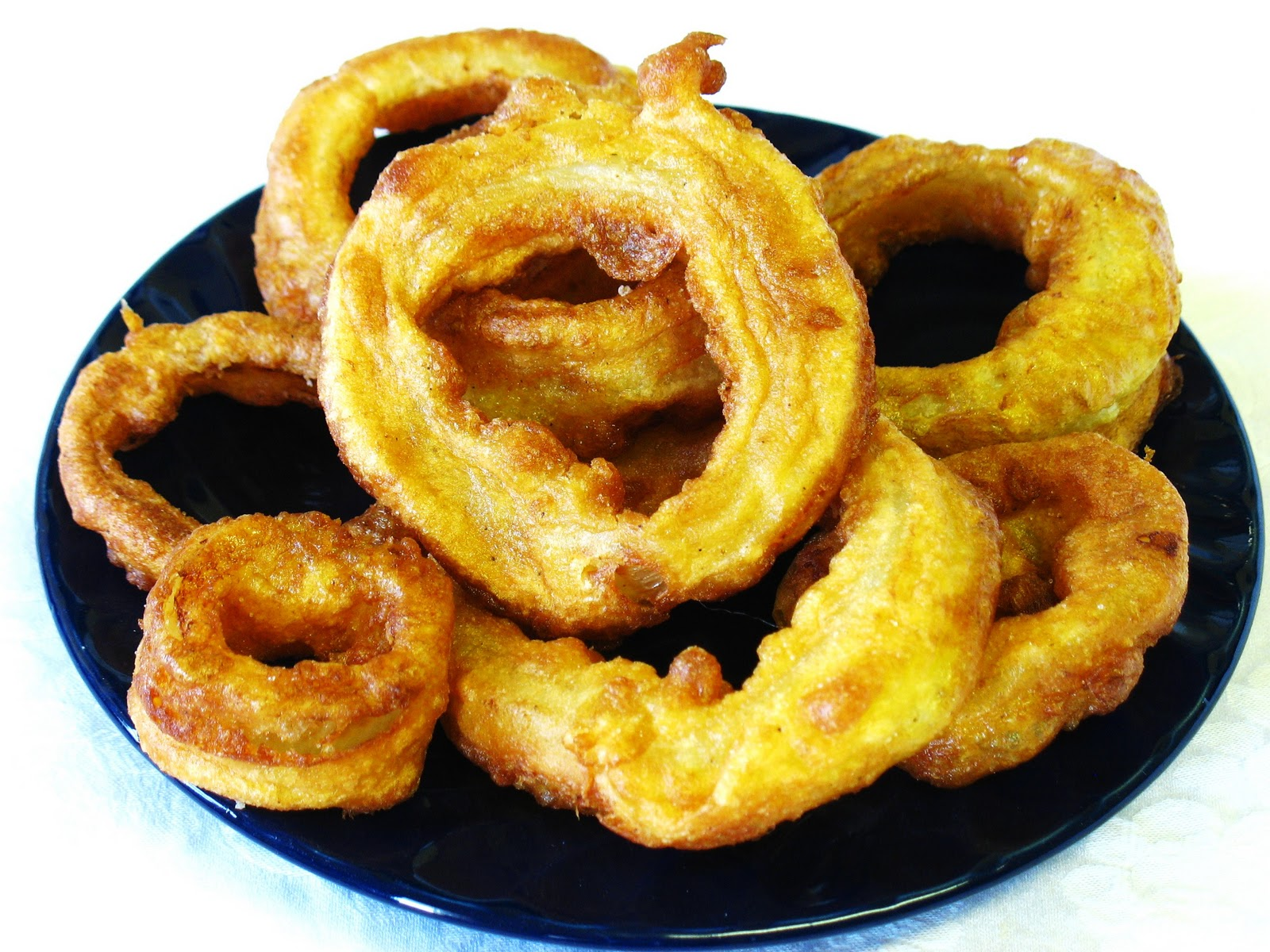 The Gluten Free Spouse: Gluten Free Battered Onion Rings