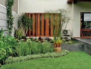 Taman Rumah Minimalis Modern