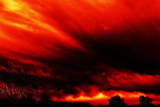 RED STORM CLOUDS
