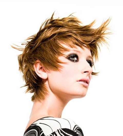 short fancy hairstyles : short funky hair styles for womens