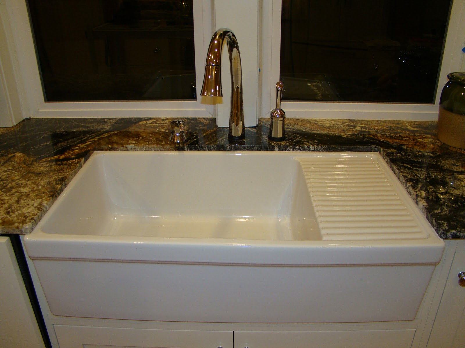 Farmhouse Kitchen Sink With Drainboard : Married With Bikes: Home Addition: Appliances