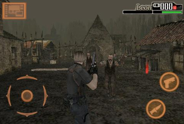 Game Resident Evil 4 3D For Android