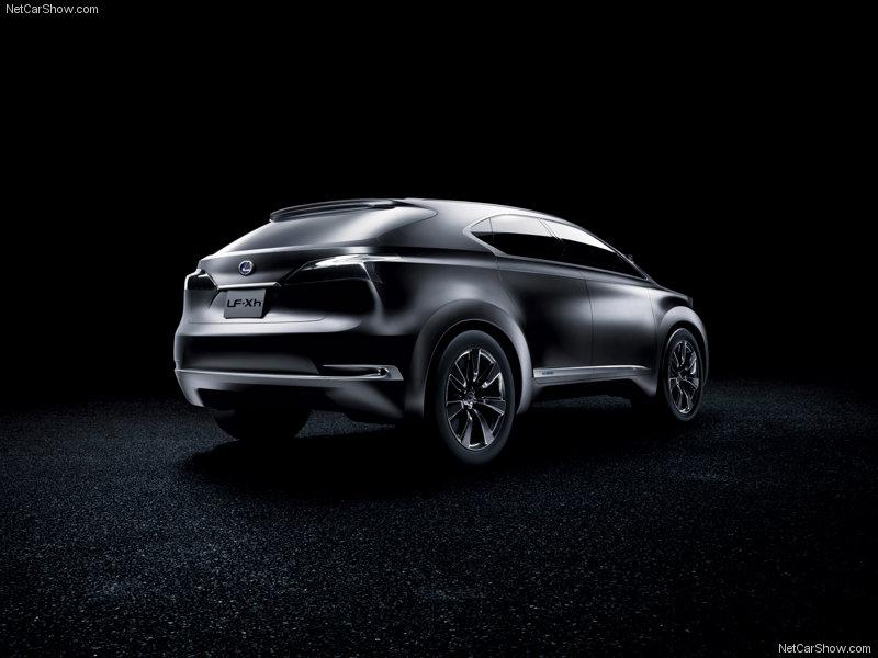 ResimCity  Lexus LF Xh Concept Resimleri