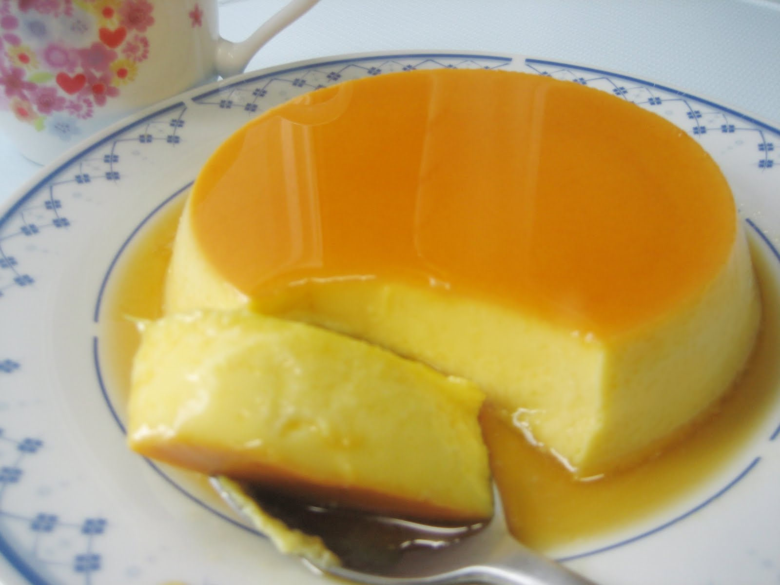 Recipe Pieces: Creme Caramel