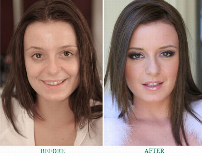 Makeup Miracles - 25 Pics | Curious, Funny Photos / Pictures