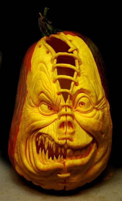 3D Pumpkin Carving Patterns http://curiousphotos.blogspot.com/2010/10/creative-pumpkin-carvings.html