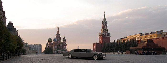 Limo Concept for Russian President