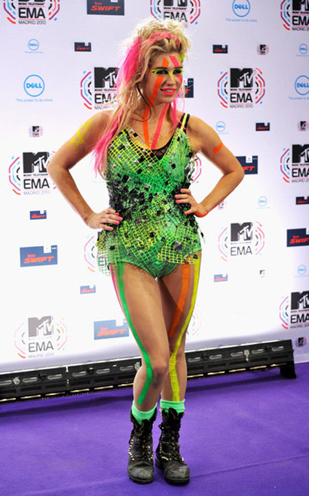 Worst outfits stars 2010
