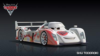 Shu+Todoroki - Este nuevo carro de Cars 2 tiene cara de Yakuza!