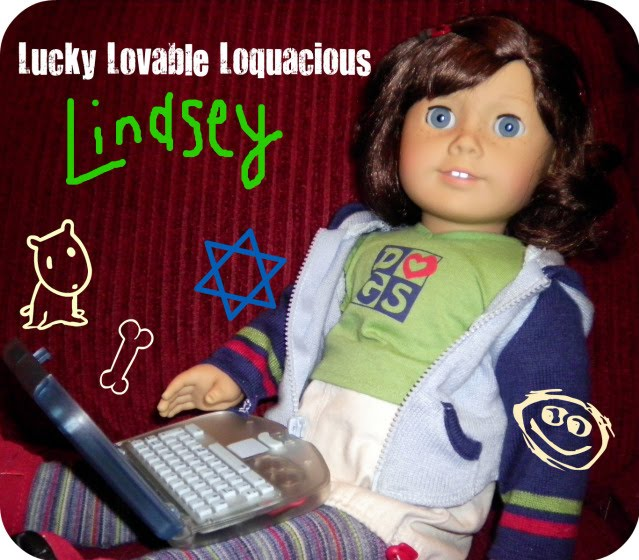 Lucky Lovable Loquacious Lindsey!