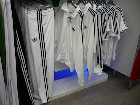 adidas ensemble blanc