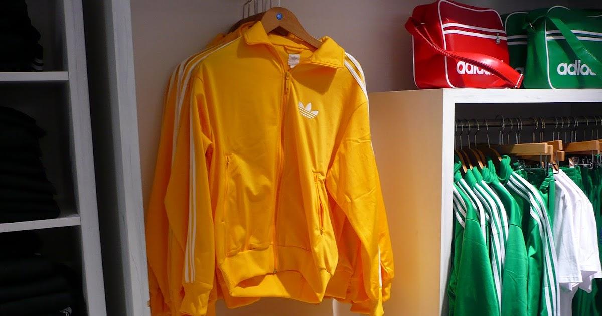 veste adidas jaune