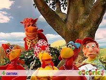 Cocorico: Una de las mas cuidadadas  series infantiles que he visto .. bien hecha en Brasil