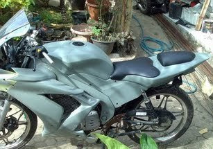 Modification The new Suzuki Thunder's 125
