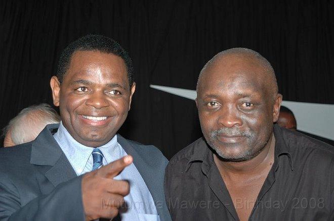 BUSINESSMAN MUTUMWA MAWERE & REV MUFARO HOVE