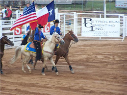 Posting the colors at our local rodeo