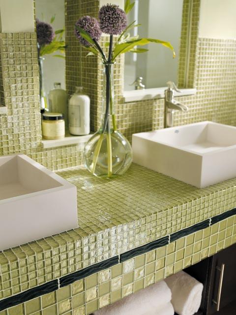 various bathroom tile