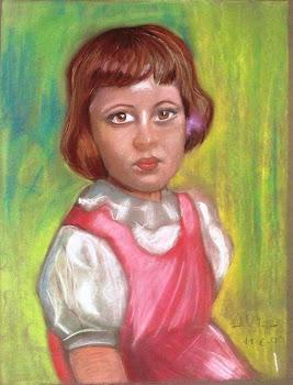 Retrato de una chiquilla